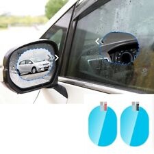 2 x Car Anti Fog Anti-glare Rainproof Rearview Mirror Trim Film Cover Accessory