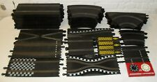 Scalextric Classic Analogue 1:32 Scale Model Car Racing 54 Piece Track Lot