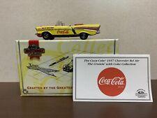 matchbox dinky DYG 02/B Chevrolet Bel Air  1957. Coca Cola