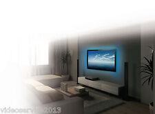 3 strisce LED per illuminazione retro TV USB di 1900 mm A COLORI CON TELECOMANDO