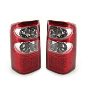 1Pair LED Rear Tail Brake Light Assy Fit For Nissan Patrol GU Series 1/2 1997-04