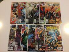 Near Complete Set Justice League International #1-11 + Annual #1 DC Comics 2011