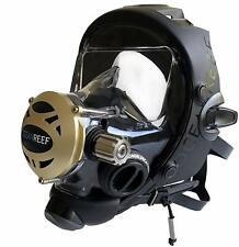 Ocean Reef Predator Extender Divers Full Face Diving Mask Medium/Large Black
