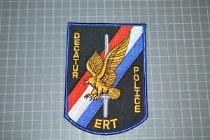 Decatur Illinois Police ERT Patch (B17-8)