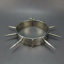 Master Series Heavy Duty Stainless Steel Spiked Collar