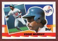 1990 Topps Big #29 Eddie Murray Los Angeles Dodgers Orioles HOF Card NM/MT+