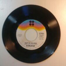KANSAS 45 RPM VINYL - DUST IN THE WIND - 70's MUSIC - ROCK MUSICBALLAD