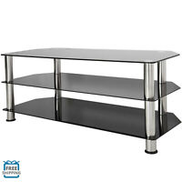 """AVF SDC1140-А Black TV Stand with Legs for TVs up to 55"""""""