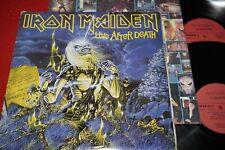 IRON MAIDEN Live After Death / Polish DLP 1985 TONPRESS SX-T 111/112