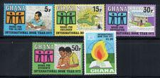 Ghana 1972 Mi. 458-462 Postfrisch 100% buch