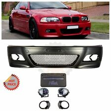 BMW E46 M3 OE REPLACEMENT FRONT BUMPER KIT FOR 2001-2006 BMW E46 M3 COUPE & VERT