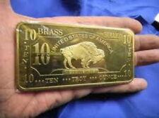 10 oz 999 Messing Brass American Buffalo TOP Geldanlage ! SEHR SELTEN ! NEU