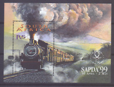 SOUTH AFRICA Sheet Mi 76 Mnh SAPDA 99 Dampflokomotive Locomotive  [030]