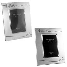 Christening Gift - Silver Plated Photo Frame - Choose Design