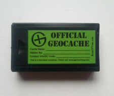 Magnetic Key Holder Geocache Container - super-strong magnets & logsheet/pencil