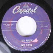 Hear! Rockin' Instr. 45 Sam Butera - Easy Rockin' / Smilin' Billy On Capitol