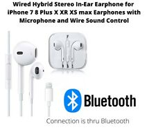 Wired Ear Headphones with Lightning Cable For I-phone