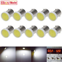 10 X Ba9s 1895 T4W 182 1445 T11 COB LED Car Side Tail Light Bulb 12V DC White