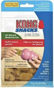 KONG SNACKS SMALL PUPPY CHICKEN & RICE RECIPE 198GRM LONG DATED £6.99 FREE POST.