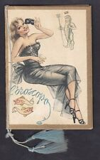 CALENDARIETTO 1953 L'OROSCOPO - PIN UP Parruc. MULLER MILANO old pocket calendar