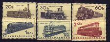 Tschechoslowakei 1603/08 Eisenbahn  postfrisch