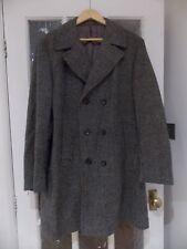 vintage Men's double breasted Tweed coat
