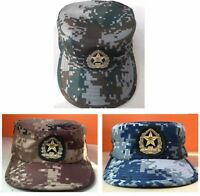 Original Chinese ARMY PLA Type 07 Officer Visor Hat with Badge Brand ... 1ad735d11995