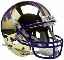 WASHINGTON HUSKIES Schutt AiR XP Full-Size REPLICA Football Helmet (GOLD CHROME)
