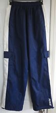 Nike Cargo Sweats Joggers Size Small S Blue White Polyester Draw String Pants
