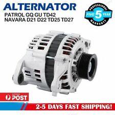 Alternator fits Nissan Patrol GU Y61 engine ZD30DDTI 3.0L Diesel 01-17 Generator