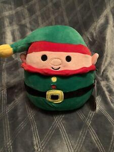 "Squishmallows-7.5"" Christmas Elf 🌈🌟🎅🧝BNWT Supersoft Plush"