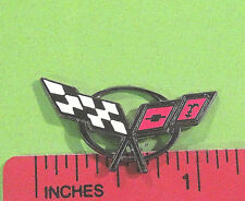 Corvette C5  C 5  C-5 logo - hat pin , hatpin , lapel pin , tie tac  GIFT BOXED