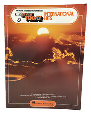 E Z Play Today International Hits Song Book for Organ Piano Electronic Keyboard