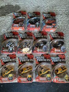 Transformers Movie (2007) Figure lot of 11 mint condition Unopened Premium