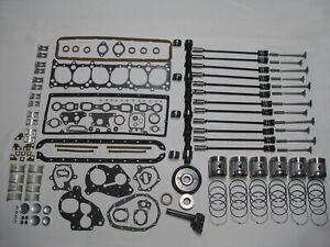 Deluxe Engine Rebuild Kit 1941-1947 Chevrolet 216 6-cyl CHEVY pistons valves