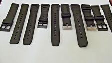 cinturini x casio neri amw3200 d.bank w7200 ALT6000 mq240 watch strap band