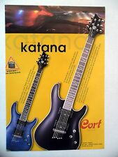 PUBLICITE-ADVERTISING :  Guitares CORT Série Katana  05/2004