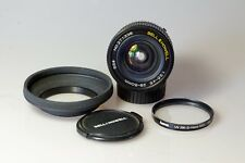 Zoom grand angle Bell & Howell 28-50mm 1:3,5-4,5 pour MINOLTA MD ou MC TBE