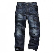 SCRUFFS WORK TROUSER TRADE DENIM WORK JEANS CARGO WORKER TROUSERS COMBAT