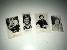 SHAUN CASSIDY Vintage Press Photos Lot 1970s Hardy Boys Teen Heartthrob