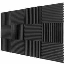 "12 Pack Acoustic Panels Studio Foam Wedges Soundproofing 2"" X 12"" X 12"",USA"