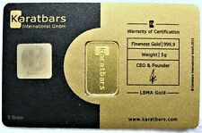5 gram - Karatbars International - Gold Bar 999.9 in Assay