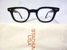 Vintage American Optical Hybrid Stadium Black 44/24 Men's Plastic Eyeglass Frame