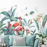 Bird of Paradise Flamingo Tropical Plant Removable Wall Sticker Decal Decor Gift
