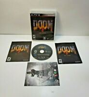 Doom 3 BFG Edition  (PlayStation 3 2012) with Manual TESTED
