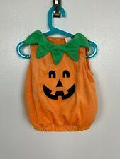 Halloween Costume Suit Sz 6-12M Pumpkin Puffer Orange