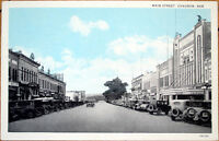 1930 Postcard: Main Street - Chadron, Nebraska NE
