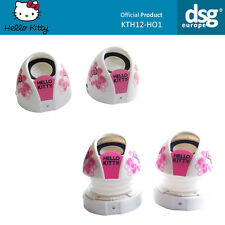 Hello Kitty Portable Mini Magnetic Speaker - Expand for Bass - Pink & White