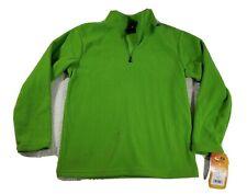 NWT Champion Youth Boys Fleece Jacket Size Large Green Lightweight