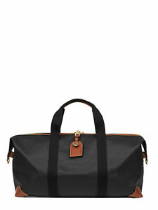 MULBERRY Men's Bags Travel Bags Black Leather NIB Authentic